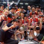 Hämeenlinnassa juhlitaan lentopallon Suomen mestaruutta
