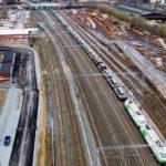 Megajuna kuljettaa terästä Hämeenlinnaan