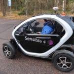 Automaattiautoja testataan Hämeenlinnassa